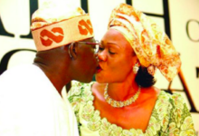 Bola Tinubu and wife Remi