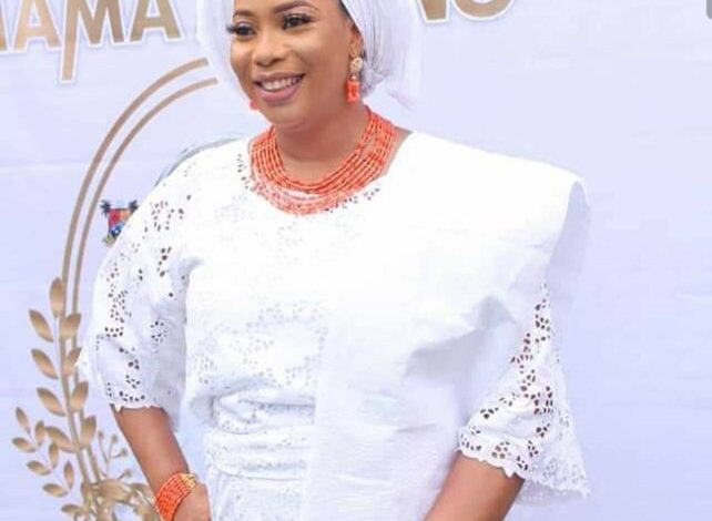 Lagos lawmaker Mrs Mojisola Alli Macauley